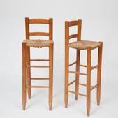 image Charlotte Perriand - Set of 2 Bar Stools