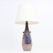 image Juliette Derel and Jean Rivier - Ceramic table lamp