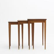 image Jacques Adnet (attribution) - Nesting table / SOLD