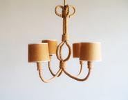 image Audoux-Minet - Ceiling Lamp / SOLD