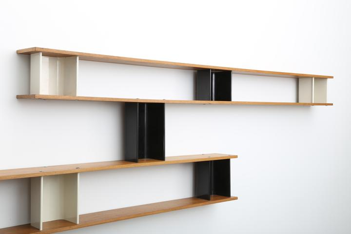charlotte perriand nuage wall shelf charlotte. Black Bedroom Furniture Sets. Home Design Ideas