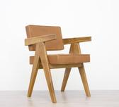 image Pierre Jeanneret - Leather Office Chair / SOLD