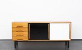 image Charlotte Perriand - Black and White Sideboard / SOLD