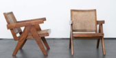 image Pierre Jeanneret - Pair of Lounge Chairs