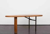image Peter-Pierre Székely - Asymmetrical Oak Table / SOLD