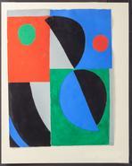 image Sonia Delaunay-Terk - Poesie de Mots, Poesie de Couleurs / SOLD