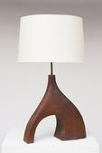image French 1960 - Ceramic table lamp / SOLD