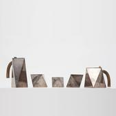 image Unknown Artist - Sculptural coffee and tea set
