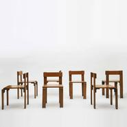 image Georges Candilis - Set of 6 chairs