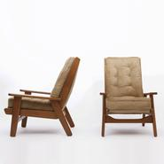 image Pierre Guariche  - Pair of armchairs FS 108 / SOLD