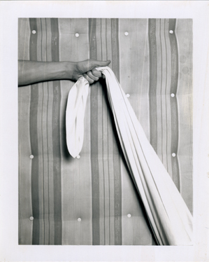 <i>Untitled (Hand and Mattress)<i/>, c. 1973