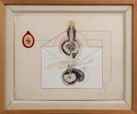 <i>Untitled/Madonna Medallion<i/>, 1968