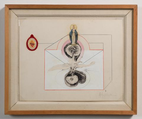 <i>Untitled / Madonna Medallion<i/>, 1968