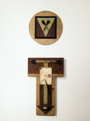 <i>Untitled (2-Part Wood Collage)<i/>, 1970