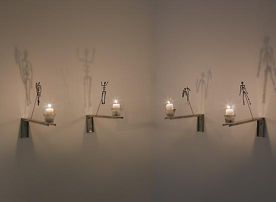 CHRISTIAN BOLTANSKI <b>Les bougies (Shadows from the Lessons of Darkness)</b>, 1987 Image