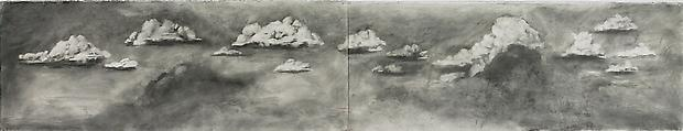 <b>Drawing from 'Preparing the Flute' (Panoramic IV Clouds)</b>, 2005 Image