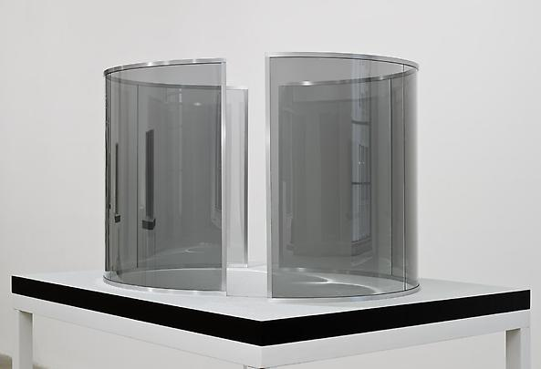 <b>Two Half-Cylinders Off-Alligned</b>, 2000 Image