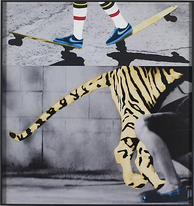 <b>Hands and/or Feet (Part One): Skateboards / Tiger</b>, 2009 Image