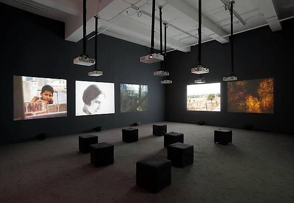 <b>The Lightning Testimonies</b>, Installation view Image