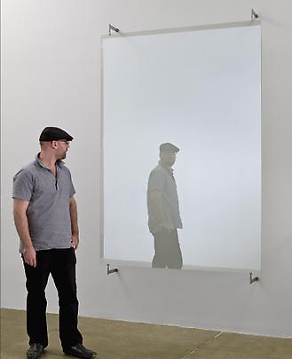 GERHARD RICHTER <b>876-12 Glasscheibe</b>, 2002 Image