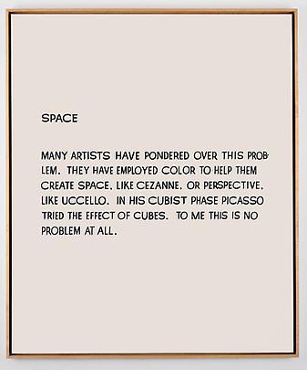 JOHN BALDESSARI <b>Space</b>, 1966-1968 Image