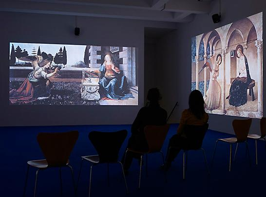 The Annunciation (installation view), 2010 Image