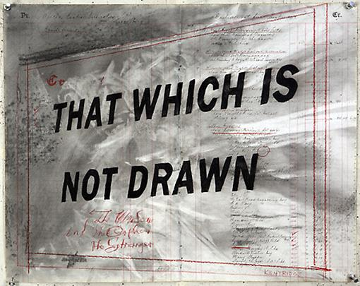 <b>Drawing for 'Other Faces'</b>, 2011 Image