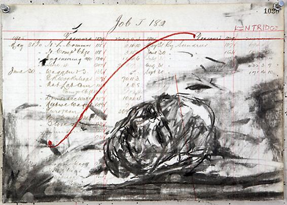 William Kentridge, <b>Drawing for 'Other Faces'</b>, 2011 Image