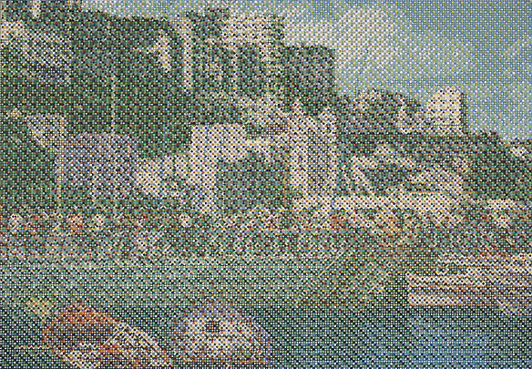 Bahia Harbor Postcard, 2011 Image