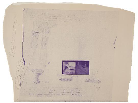 <i>A blue print for a temple</i>, 1980 Image