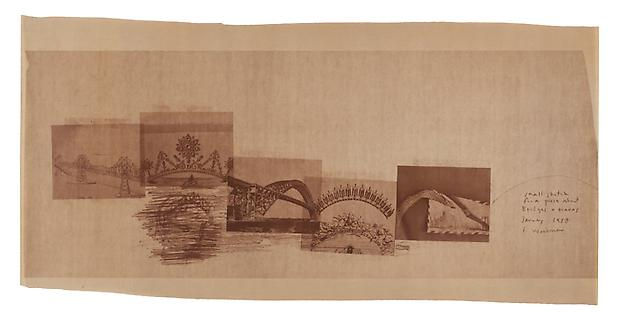 <i>Small sketch for a piece about bridges and tiaras</i>, 1980 Image