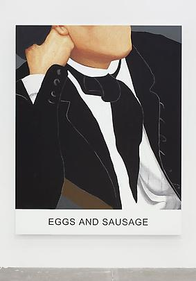&lt;i&gt;Double Play: Eggs and Sausage&lt;/i&gt;, 2012 Image