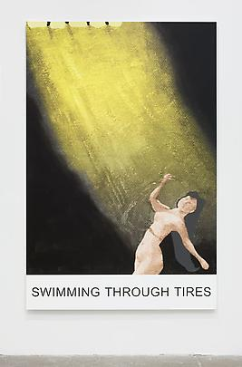 <i>Double Play: Swimming Through Tires</i>, 2012 Image