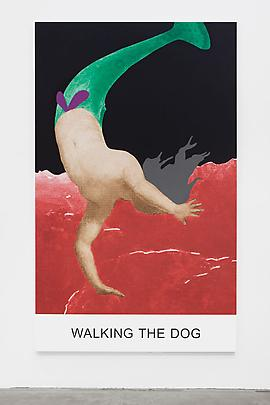 <i>Double Play: Walking the Dog</i>, 2012 Image
