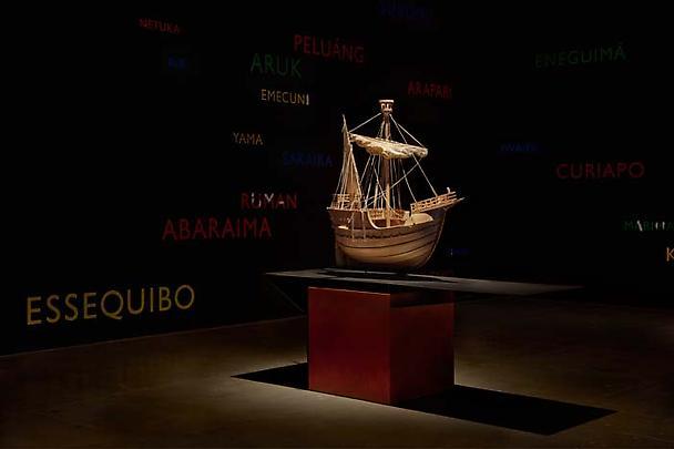 Installation view <i>'Los Aristócratas de la Selva y la Reina de Castilla'</i> Image