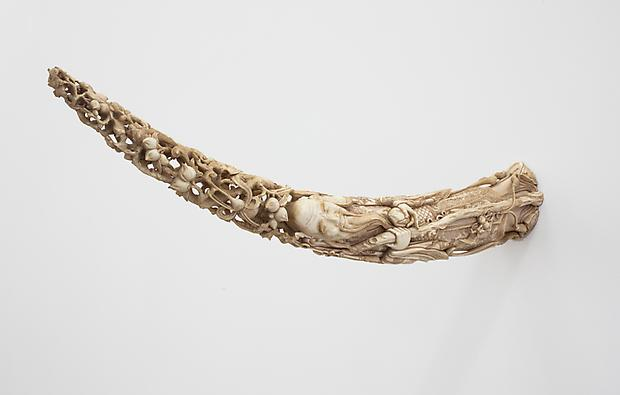 <i>Lot 12. A Vietnamese Carved Ivory Tusk</i>, 2013 Image