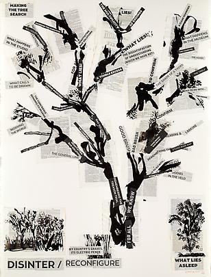 <i>Making the Tree Search</i>, 2013 (Triptych) Image