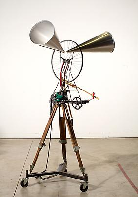 <i>Untitled (Bicycle Wheel Sculpture)</i>, 2013 Image