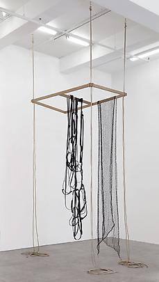 Leonor Antunes, Assembled, moved, rearranged and scraped continuously III, 2013 Image