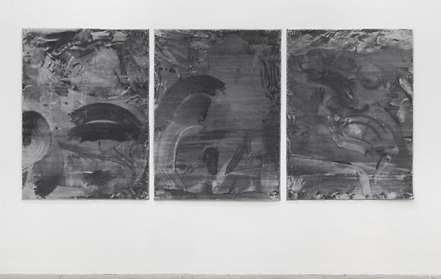 Melissa Dubbin & Aaron S. Davidson, After movements from the floor to the wall (record of activity), 1, 2, & 3, 2014 Image