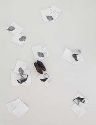 <i>Vedo (frammenti della decifrazione del mio campo visivo) / I see (Fragments of the Decoding of My Visual Field)</i>, 1987 Image
