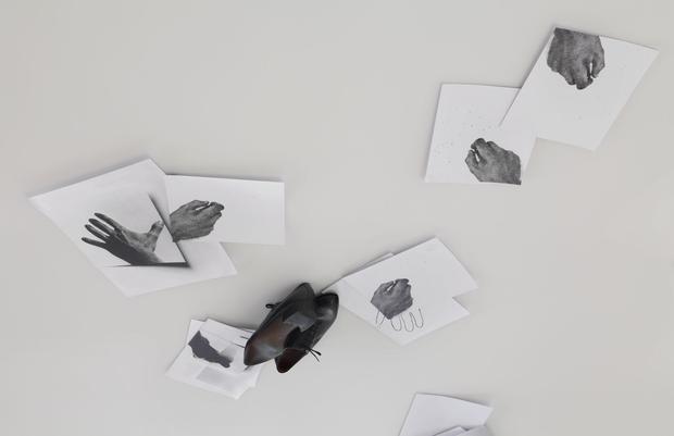 <i>Vedo (frammenti della decifrazione del mio campo visivo) / I see (Fragments of the Decoding of My Visual Field)</i>, 1987 (detail) Image