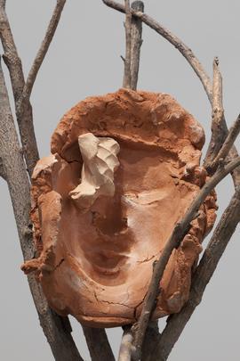 <i>Terra su terra - Volto (Earth on Earth - Face)</i>, 2014 (detail) Image