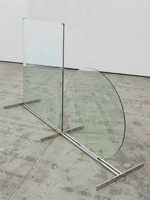 <i>Tondo e rettangolo (Circle and Rectangle)</i>, 1964/2004 Image