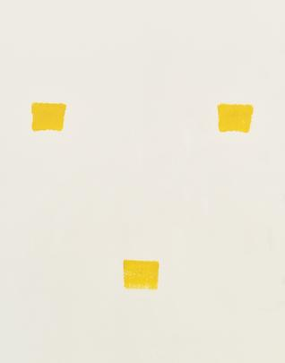 <i>Imprints of paintbrush no. 50 repeated at regular intervals of 30 cm</i>, 1991 Image