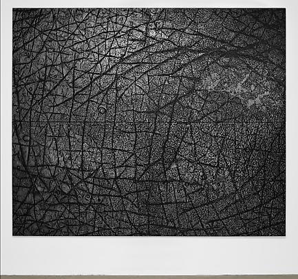 <b>Pelle di grafite - Riflesso di Manganite</b>, 2004 Image