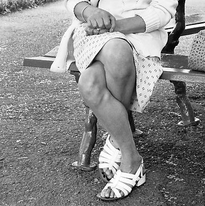 Particulars <b>Woman on a bench, Joubert Park, Johannesburg</b>, 1975 Image