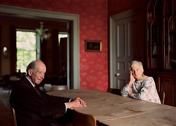 THOMAS STRUTH <b>Eleonor and Giles Robertson, Edinburgh</b>, 1988 Image
