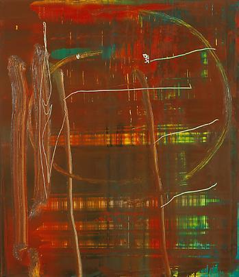 <b>889-1 Abstraktes Bild</b>, 2004 Image
