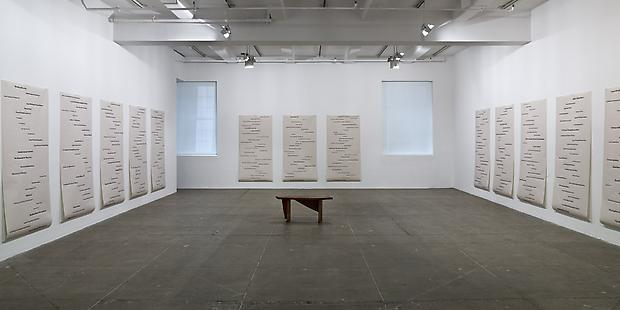 Installation view North Gallery  <b>Obit</b>, 2008 Image
